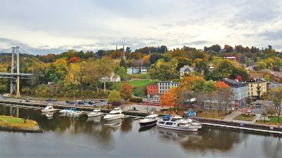 rondout-waterfront-aerial